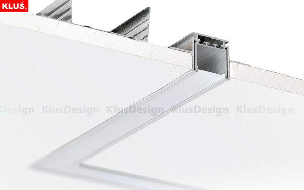 6.56 ft. Anodized Aluminum LOKOM Drywall Channel Image