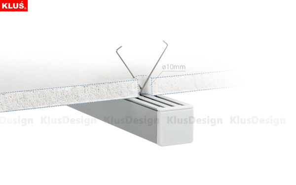 6.56 ft. Anodized Aluminum LIPOD Drywall Channel Image