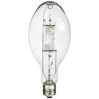Energy Saver - 360/400 Watt - BT37 - Metal Halide - Unprotected Arc Tube - 4200K - ANSI M59/E - M165/S  - Universal Burn - MS360/ED37/ES/U/4K - Plusrite 1021 BT37  Metal Halide