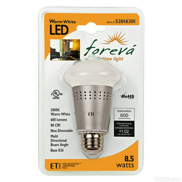 LED - 8.5 Watt - A19 - Omni-Directional - 50 Watt  Equal Image