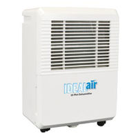30 Pint - Dehumidifier - 4 Amps - 120 Volts - 420 Watts - Ideal-Air 700830