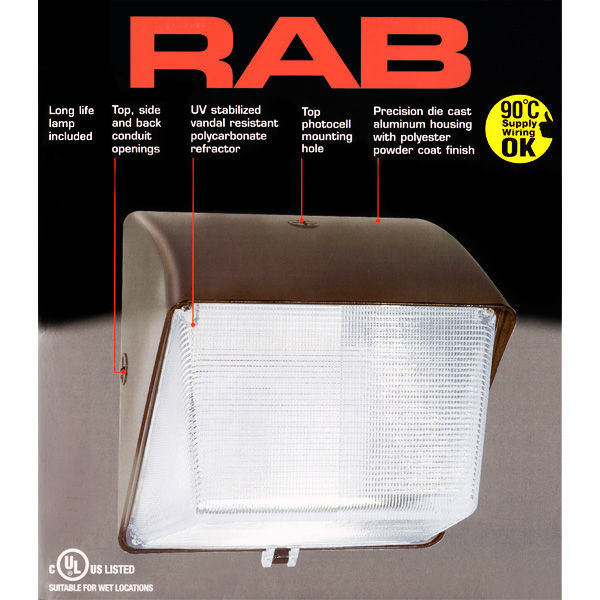 70 Watt - Metal Halide Wall Pack Image