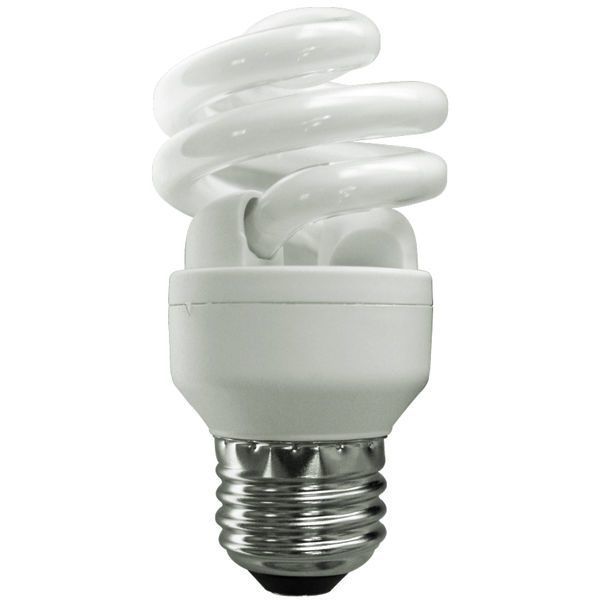 T2 Spiral CFL - 10 Watt - 40W Equal - 2700K Warm White Image