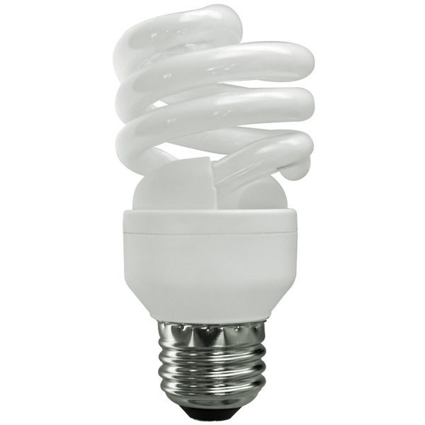 T2 Spiral CFL - 13 Watt - 60W Equal - 2700K Warm White Image