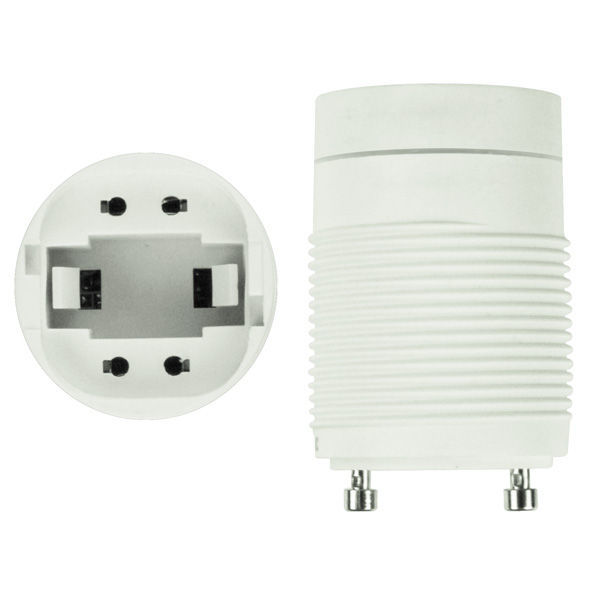 Compact Fluorescent GU24 Self-Ballasted Socket Adapter Image