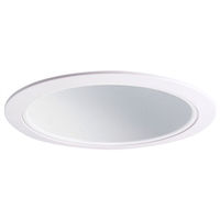 6 in. - White Cone Reflector Trim - PLT F628WAT