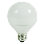 G25 CFL - 9 Watt - 40W Equal - 4100K Cool White Image