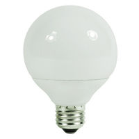 G25 CFL - 9 Watt - 40W Equal - 2700K Warm White - 82 CRI - 55 Lumens per Watt