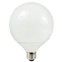23 Watt - G40 CFL - 80 W Equal - 2700K Warm White - 80 CRI - 54 Lumens per Watt - 15 Month Warranty