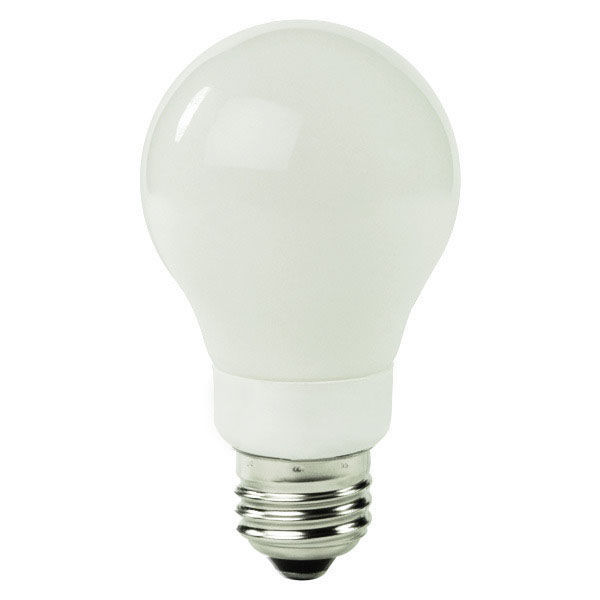 A-Shape CCFL - 5 Watt - 30W Equal - 4100K Cool White Image
