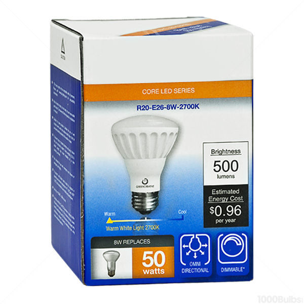 LED R20 - 8 Watt - 500 Lumens Image