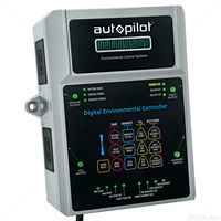 Digital Environmental Controller with Remote Probe - 4 Outlets for Climate Control Devices - 120V - 14.5A - Autopilot APCETHD