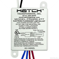 Hatch FR2600-277L - (1) Lamp - 26 Watt CFL - 277 Volt - Preheat Start - 0.99 Ballast Factor