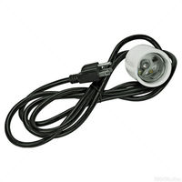 All System Cord Set for Compact Fluorescents - Vertical Hanging - 6KV Mogul Socket Base - 8 foot Power Cord - Hydrofarm CS53521