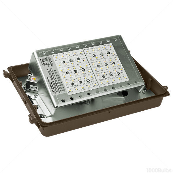 42 Watt - LED - Wall Pack - 150W  Equal Image