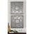 Uttermost 13808 - (Set of 2) Decorative Square Wall Mirrors