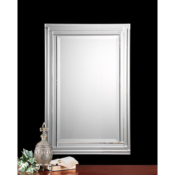Uttermost 08027 B - Beveled Frameless Wall Mirror Image