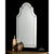 Uttermost 11912 B - Frameless Arch Wall Mirror
