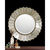 Uttermost 08028 B - Round Etched Glass Wall Mirror