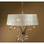 Uttermost 21246 - Crystal Leaf Chandelier