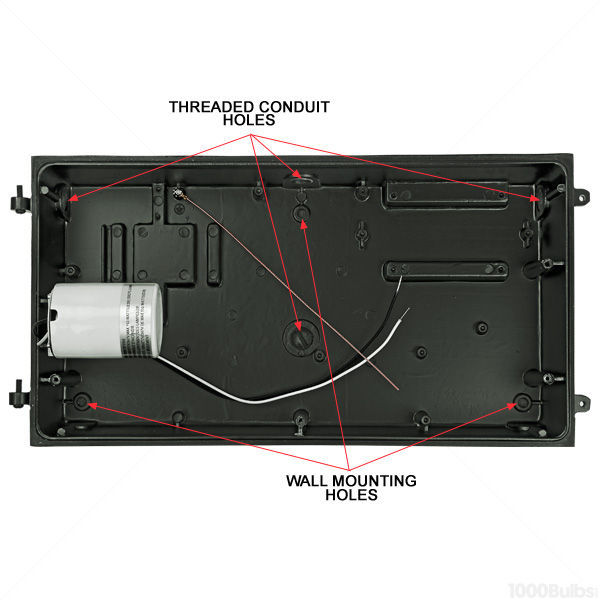 100 Watt - Compact Fluorescent - Wall Pack Image