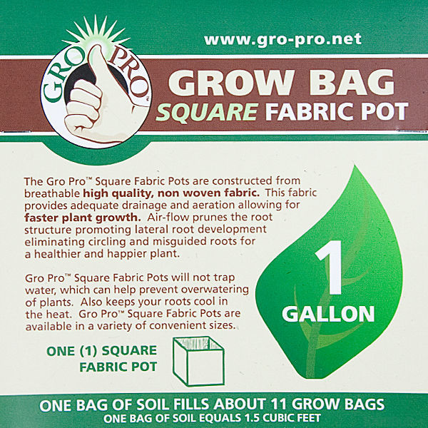 1 Gallon - Fabric Pot Image