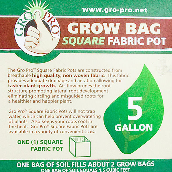 5 Gallon - Fabric Pot Image