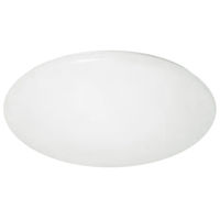 35 Watt - 19 in. LED Round Ceiling Fixture - 4000K - 120V - White Finish - Amax Lighting LED-R003L