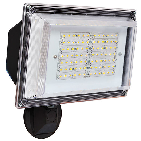 Amax led sl42bz 42 watt led security light 4000k led floodlight with photocell 42 watt aloadofball Images
