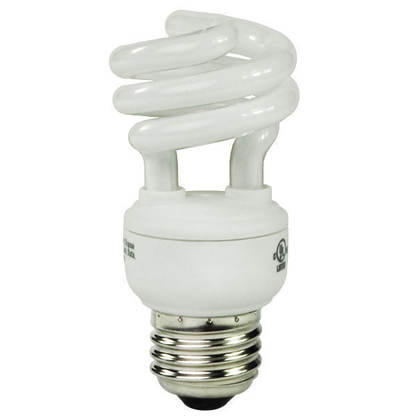 Spiral CFL - 20 Watt - 75W Equal - 5100K Full Spectrum Image