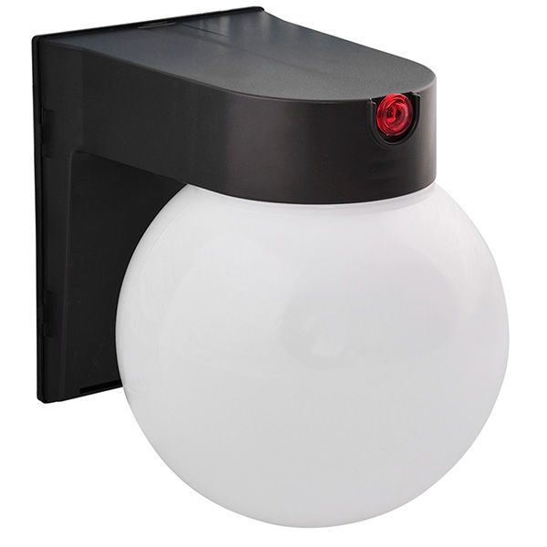 12 Watt - LED - Globe Fixture with Photocell Sensor Image