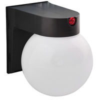 12 Watt - LED - Globe Fixture with Photocell Sensor - 4000 Kelvin - 120 Volt - Bronze Finish - Amax Lighting LED-SLR12BZ