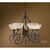 Uttermost 21083 - Scavo Glass Chandelier