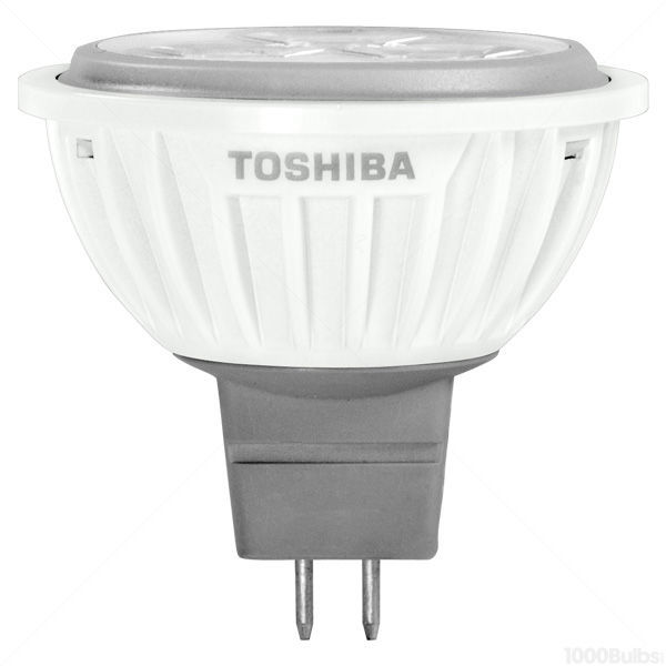 Toshiba 5MR16/27DSP-T - 5.2 Watt - LED - MR16 - 30 Watt Equal Image