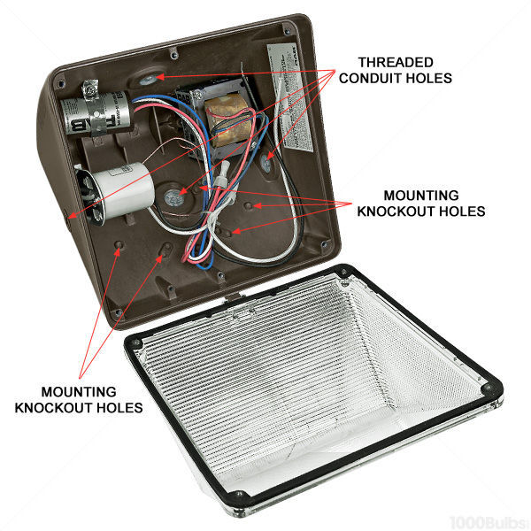 100 Watt - High Pressure Sodium - Wall Pack Image