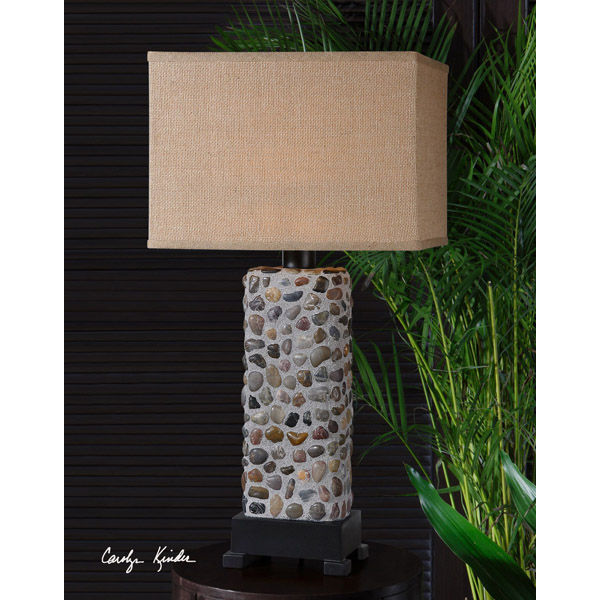Uttermost 26474-1 - Stone Inlay Table Lamp Image