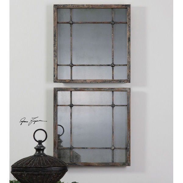 Uttermost 13845 - Square Wall Mirrors Image