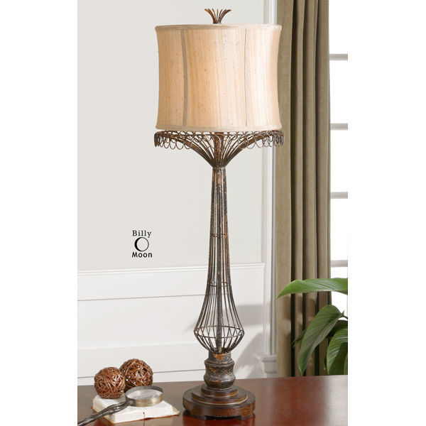 Uttermost 29543 - Hand-Forged Metal Buffet Lamp Image