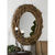 Uttermost 05024 - Round Teak Wood Wall Mirror