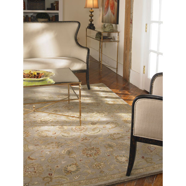 Uttermost 73024-5 - Light Gray Wool Rug - 5 ft. x 8 ft. Image