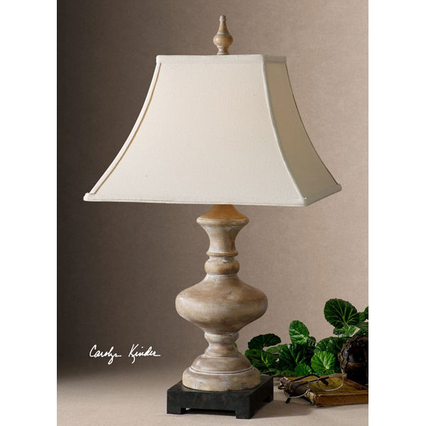 Uttermost 26525 - Wooden Table Lamp Image