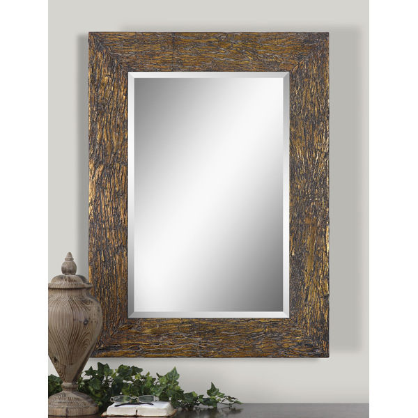 Uttermost 07055 - Antiqued Bark Wall Mirror Image