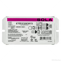 Sola E-724-U-226-M1-S - (1-2 Lamps) - 21 to 42 Watt CFL - 120/277 Volt - Programmed Start - 0.85 Ballast Factor