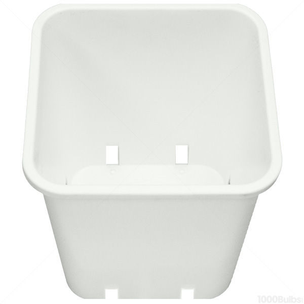Plastic Planter - 8.5 in. x 8.5 in. Square Container Image