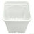 Plastic Planter - 12 in. Square - 12 in. Tall Container