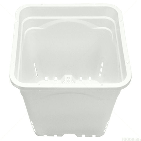 Plastic Planter - 12 in. Square - 12 in. Tall Container Image
