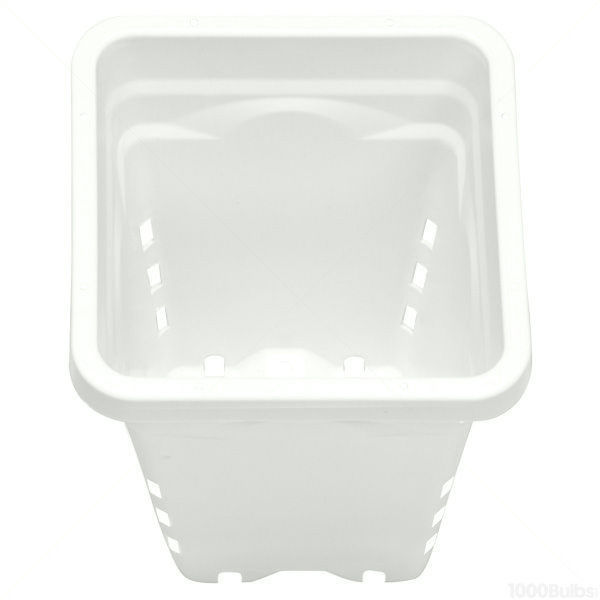 Plastic Planter - 5 in. x 5 in. Square - 7 in. Tall Container Image