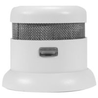 First Alert P1000 - Atom Smoke and Fire Alarm - Photoelectric Sensor - Detects Slow Smoldering Fires - Battery Operated