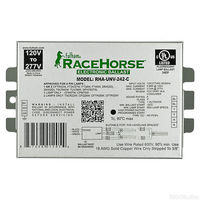 Fulham Racehorse RHA-UNV-242-K - (2) Lamp - 42 Watt CFL - 120/277 Volt - Programmed Start - Contractor Kit