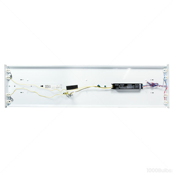 4 Lamp - 4 ft. - F32T8 - Wraparound Fluorescent Fixture  Image